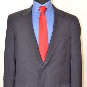 Savile Row 42L Sport Coat Blazer Suit Jacket